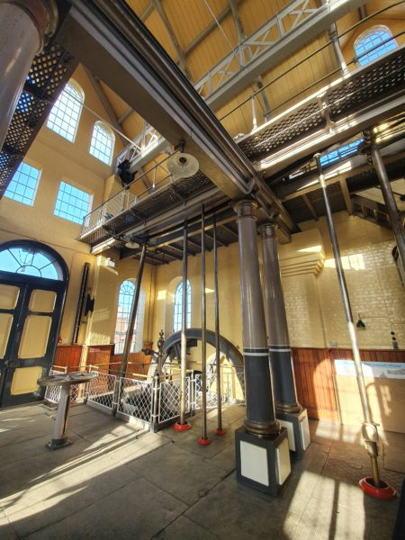 Inside of the Beam Engine House